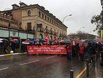 """Cientos de personas marchan en Toledo por unas pensiones dignas: """"Ni la lluvia ni Rajoy podrán pararnos hoy"""""""