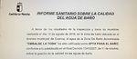 La Dirección Provincial de Sanidad vuelve a autorizar el baño en La Toba (Cuenca)