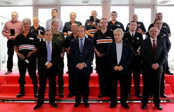 Acto de entrega de medallas y placas de Protección Civil 2016. Foto: JCCM.