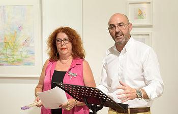 Peñarroya Jareño expone 'Acuarelas' en la Galería Gregorio Prieto.