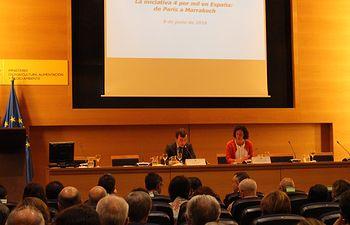 Saavedra Iniciativa 4 x Mil. Foto: Ministerio de Agricultura, Alimentación y Medio Ambiente