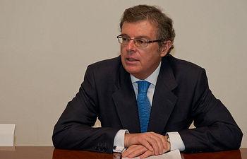 Miguel Ángel Collado, candidato a rector de la UCLM.