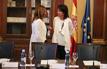 La consejera de Cultura en el Pleno de la Comisión. Foto: JCCM.