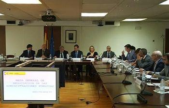 Constitución de la Mesa General de Negociación de las Administraciones Públicas (Foto: Ministerio de Hacienda y AAPP)