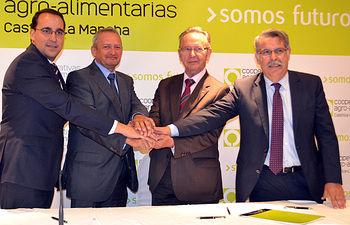 Convenio Cooperativas Agro-alimentarias - Globalcaja. Foto: Cooperativas Agro-alimentarias.
