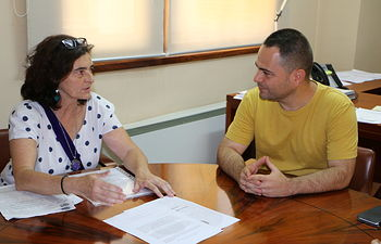 Encuentro mantenido entre el Grupo Parlamentario PODEMOS CLM y la Asociación de la Defensa de la Sanidad Pública en las Cortes de Castilla-La Mancha.