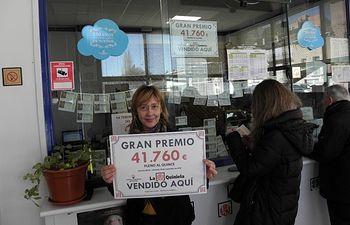 Validados en Molina de Aragón (Guadalajara) y Ocaña (Toledo) sendos boletos del Pleno al Quince de La Quiniela