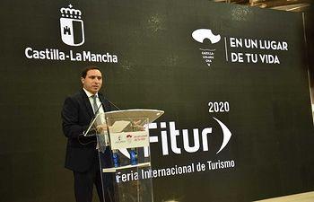 Presentación de la Diputación de Cuenca en FITUR.