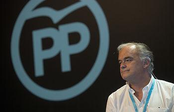 El portavoz del Grupo Popular Europeo, Esteban González Pons