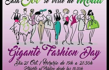Cartel Gigante Fashion Day.