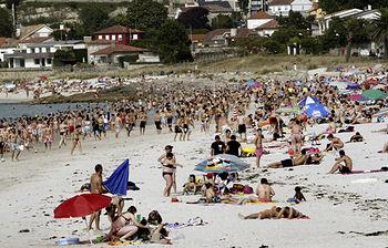 Playa turistica (Foto de archivo de EFE)