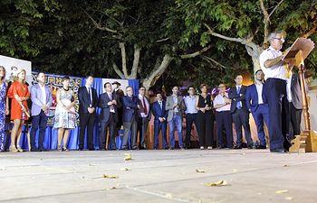 Alcaldesa y Concejal de Bienestar Social acompañaron a los vecinos de Quero en el inicio de sus fiestas
