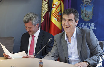 Antonio Román y Alfonso Esteban.
