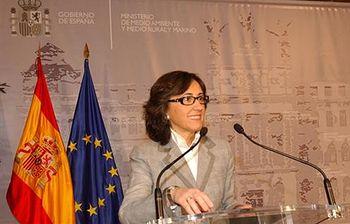 Rosa Aguilar. Foto: Ministerio de Medio Ambiente y Medio Rural y Marino