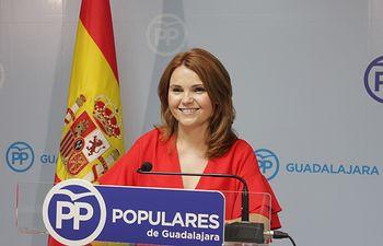 La senadora Marta Valdenebro.