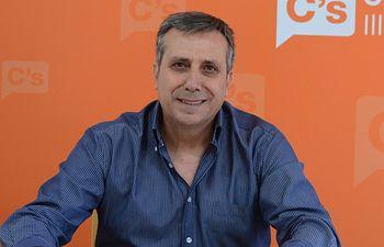 Antonio López es el delegado territorial de Ciudadanos en Castilla-La Mancha.