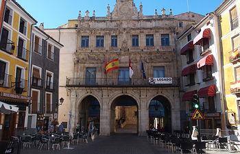 Fachada ayuntamiento de Cuenca