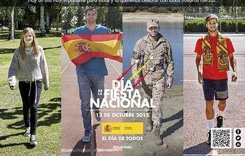 Anuncio de la Fiesta Nacional del 12 de octubre 2015. Foto: Ministerio de Defensa.