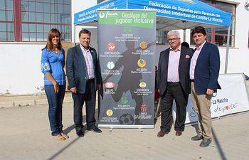 Visita a los campos de fútbol de césped artificial del Complejo Deportivo 'Carlos Belmonte'