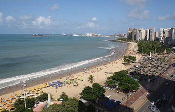 Fortaleza. Brasil. Foto de archivo.