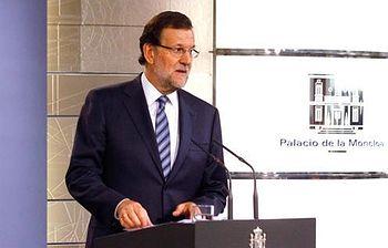Declaración intitucional del presidente de Gobierno. Foto: Pool Moncloa / Acceso libre.