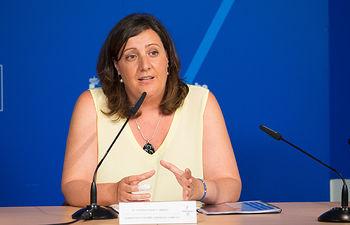 Patricia Franco, consejera de Economía, Empleo y Empresa de la JCCM.