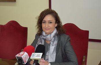 La concejala de Igualdad del Ayuntamiento de Villarrobledo, Rosario Herrera.