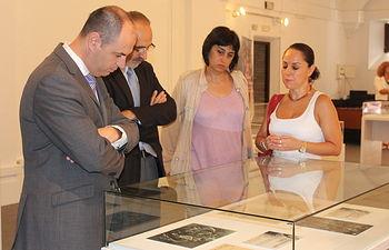 """José Jaime Alonso inaugura la exposición """"La Vida y Obra del Greco"""" I. Foto: JCCM."""
