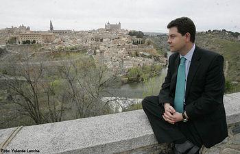 Emiliano García-Page, alcalde de Toledo. Foto de archivo.