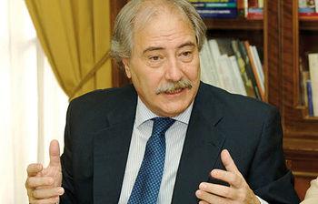 Juan Pedro Hernández Moltó, presidente de Caja Castilla-La Mancha. Foto de archivo.