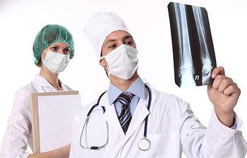 Médicos. Imagen de archivo.