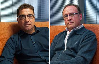 Modesto Belinchón y Gerarado Gutiérrez