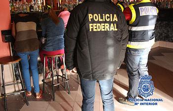 Desarticulada una organización dedicada a la explotación sexual de mujeres brasileñas. Foto: Ministerio del Interior