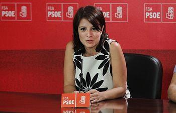 Adriana Lastra (archivo).