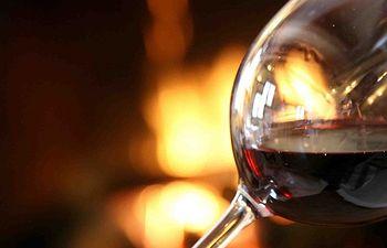 Copa de Vino. Foto de Archivo.