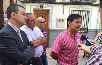Julián Morcillo - UPA-CLM - Reunión consejero de Agricultura - 03-08-15.