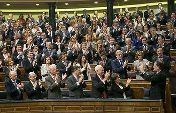 Mariano Rajoy es proclamado presidente del Gobierno