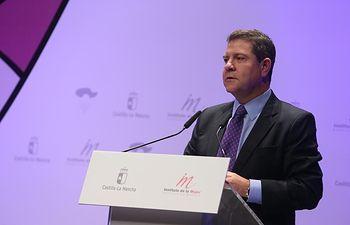 """García-Page anuncia la campaña de invierno para la erradicación de la violencia de género, que culminará en 2018 con la Ley """"más dura"""" contra esta lacra"""