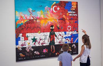 """Inauguración de la Exposición \""""Premio Artes Escénicas\"""" en el Museo Municipal de Albacete"""