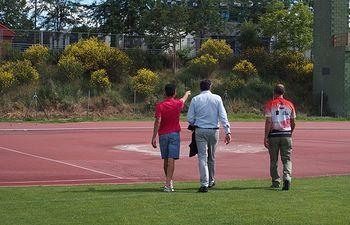 """Pista Atletismo """"Luis Ocaña"""" (Cuenca)."""