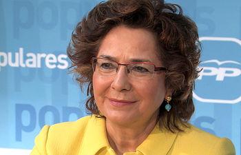 Carmen Riolobos, vicesecretaria de Comunicación y portavoz del PP C-LM.