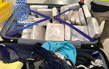 Cocaina incautada