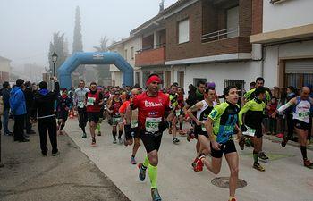 Doble cita con el atletismo popular en Abengibre y el Trail en Carcelén donde se impusieron Javier Muñoz y Raquel Padilla.