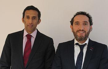 Paulo Soares y Paulino Tello.
