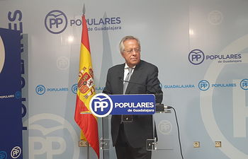 Ramón Aguirre, diputado PP por Guadalajara.
