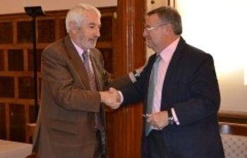 García-Tizón y presidente Cruz Roja Toledo