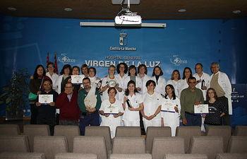El Servicio de Mantenimiento, ganador del concurso de belenes organizado por el Hospital Virgen de la Luz