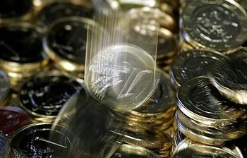 Monedas de euro. Foto: Pool Moncloa / Acceso libre.