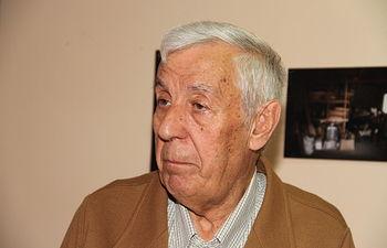 José Luis Romanillos, lutier.