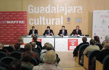 Echániz. Presentación de la campaña de la Fundación Mapfre 'Con Mayor Cuidado'. Foto: JCCM.